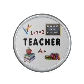 Los profesores lo hacen con la clase altavoz bluetooth