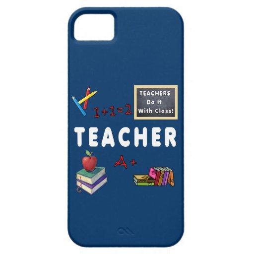 Los profesores lo hacen con la clase iPhone 5 Case-Mate cobertura