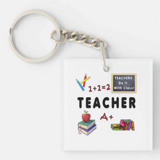 Los profesores lo hacen con la clase llavero