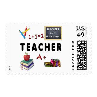 Los profesores lo hacen con la clase sello