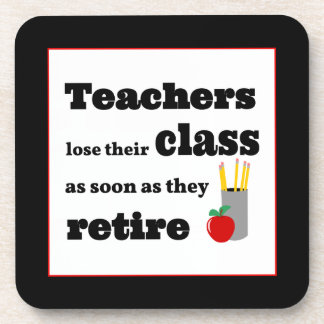 Los profesores pierden su clase en el retiro posavaso