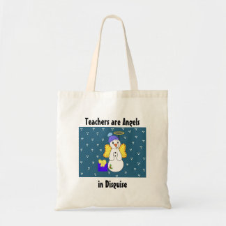 Los profesores son ángeles en disfraz bolsa tela barata