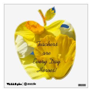 Los profesores son etiquetas Apple de cada del día