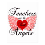 Los profesores son los ángeles reales postal