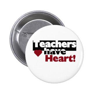 Los profesores tienen corazón pin
