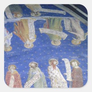 Los profetas trabajo, Isaías, Jeremiah, Solomon Pegatina Cuadrada