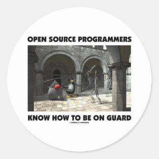 Los programadores de Open Source saben estar en Etiquetas Redondas