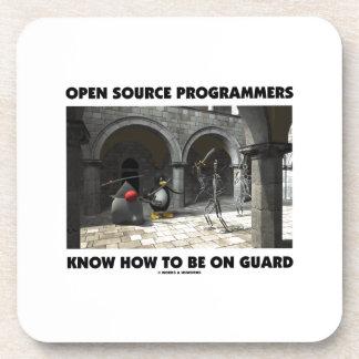 Los programadores de Open Source saben estar en Posavaso