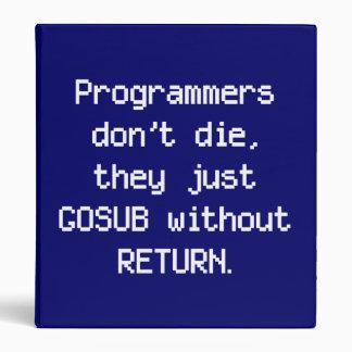 Los programadores no mueren carpeta
