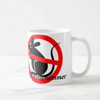 ¡Los programadores REALES no utilizan ratones! Taza Clásica
