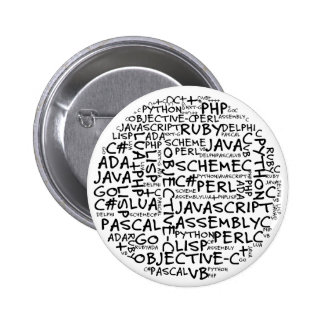 Los programadores tienen habilidades programadas m pin redondo 5 cm
