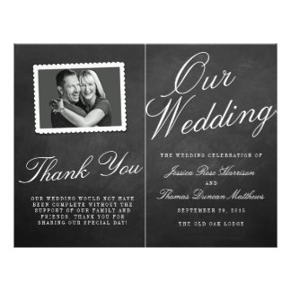 """Los programas de la colección del boda de la folleto 8.5"""" x 11"""""""