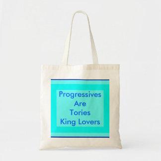 Los progresistas son rey Lovers de los conservador Bolsa Tela Barata