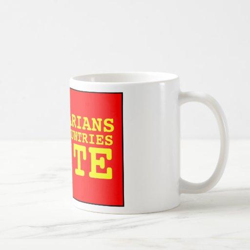 los proletarios de todos los países unen taza de café