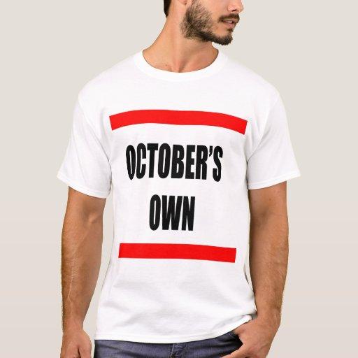 Los propios de octubre playera