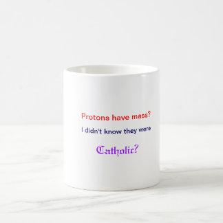 Los protones tienen taza total