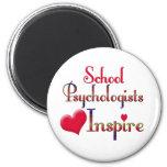 Los psicólogos de la escuela inspiran imanes de nevera