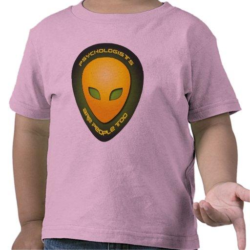 Los psicólogos son gente también camiseta