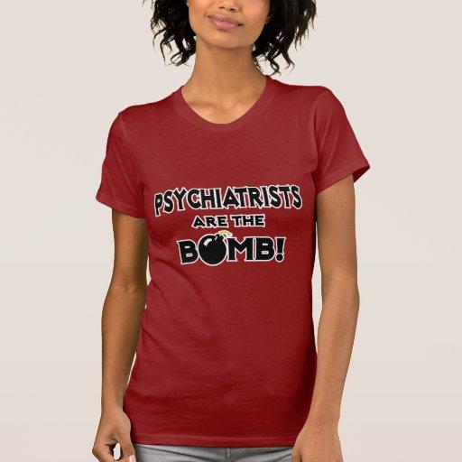 ¡Los psiquiatras son la bomba! Camiseta