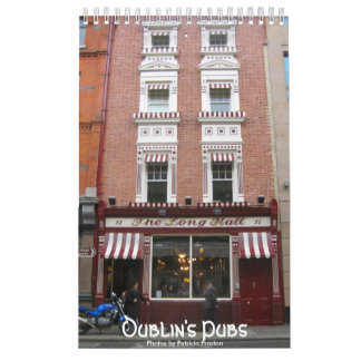 Los Pubs de Dublín Calendario De Pared