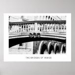 Los puentes de Venecia Poster
