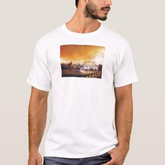 Los puentes, Newcastle sobre la camiseta de Tyne