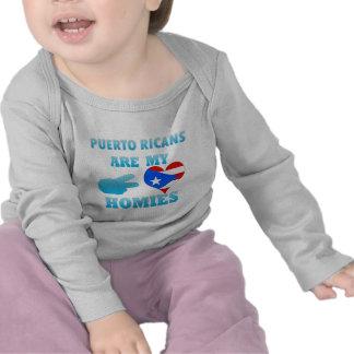 Los puertorriqueños son mi Homies Camisetas