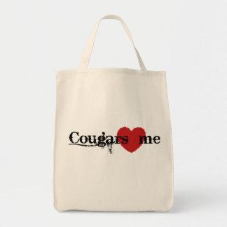 Los pumas me aman bolsa tela para la compra
