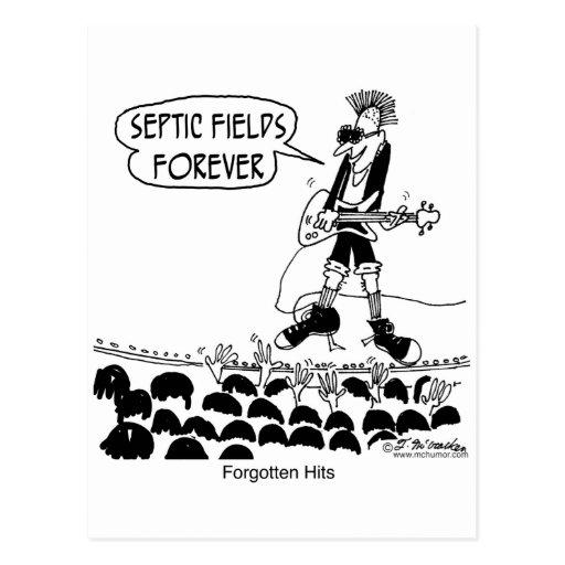 Los punks cantan campos sépticos para siempre postal