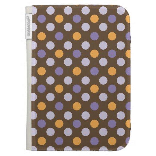 Los puntos Púrpura-Naranja-Brown Caseable de la MO