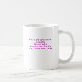 Los que entienden el binario y los que no lo hacen taza de café