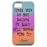 Los que no creen en magia nunca encontrarán iPhone 5 carcasa