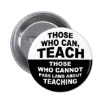 Los que pueden, enseñar pins
