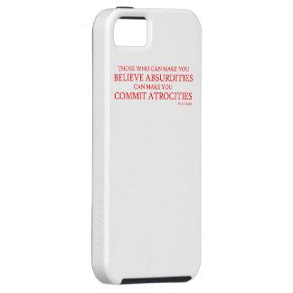 Los que pueden hacer que usted cree absurdidades iPhone 5 protector