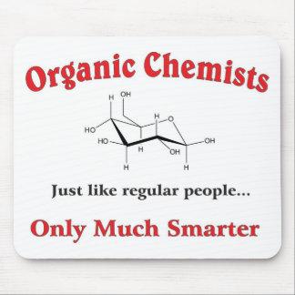 Los químicos orgánicos apenas tienen gusto de gent alfombrilla de raton