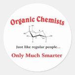 Los químicos orgánicos apenas tienen gusto de etiqueta redonda