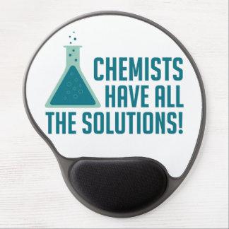 Los químicos tienen todas las soluciones alfombrilla gel