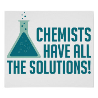 Los químicos tienen todas las soluciones impresiones