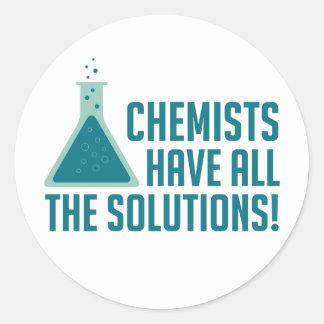 Los químicos tienen todas las soluciones