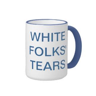 los rasgones de la gente blanca tazas de café