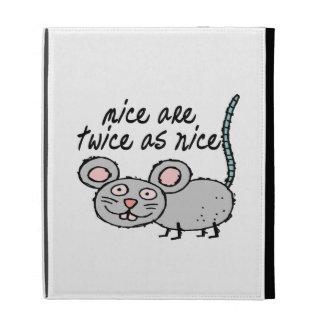 Los ratones son dos veces tan Niza