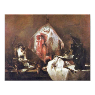 """Los rayos de Chardin Jean-Baptiste Siméon (el Invitación 4.25"""" X 5.5"""""""