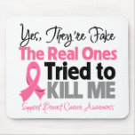 Los reales intentaron matarme - cáncer de pecho tapetes de raton