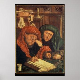 Los recaudadores de impuestos, 1550 póster