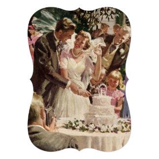 Los recienes casados de novia y del novio del vint comunicado personal