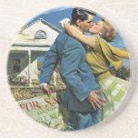 ¡Los recienes casados del vintage compran la Posavasos Diseño