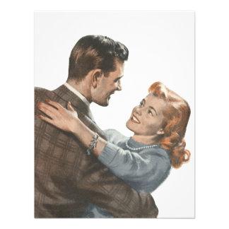 ¿Los recienes casados románticos del amor del vint Comunicados Personales