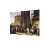 Los reclutas de 1807 impresión en lienzo estirada