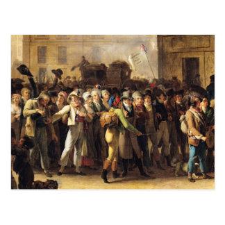 Los reclutas de 1807 tarjetas postales