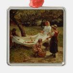 Los recolectores de Apple, 1880 Adorno De Reyes